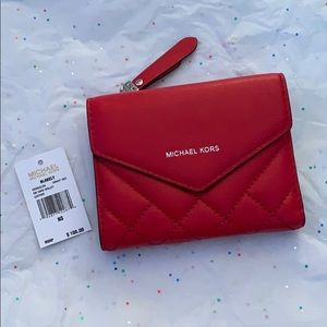 Michael Kors Blakely Small Leather Card Wallet.